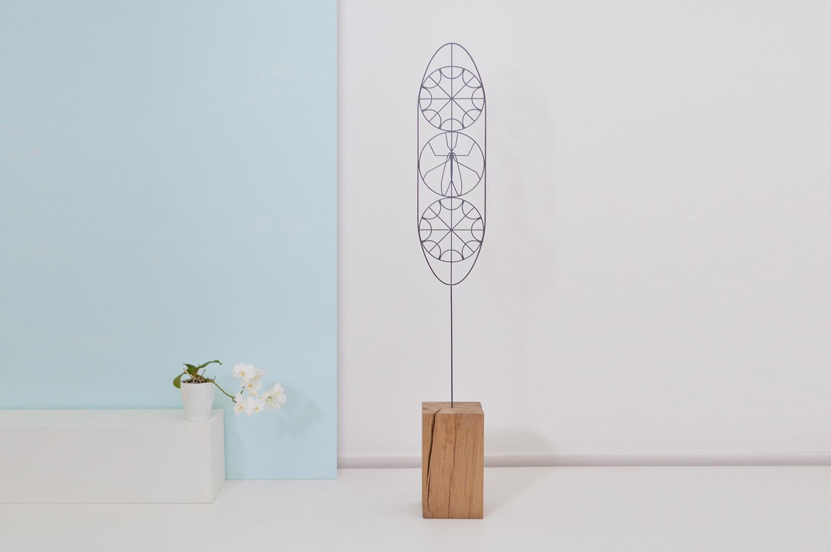 sculpture fleur
