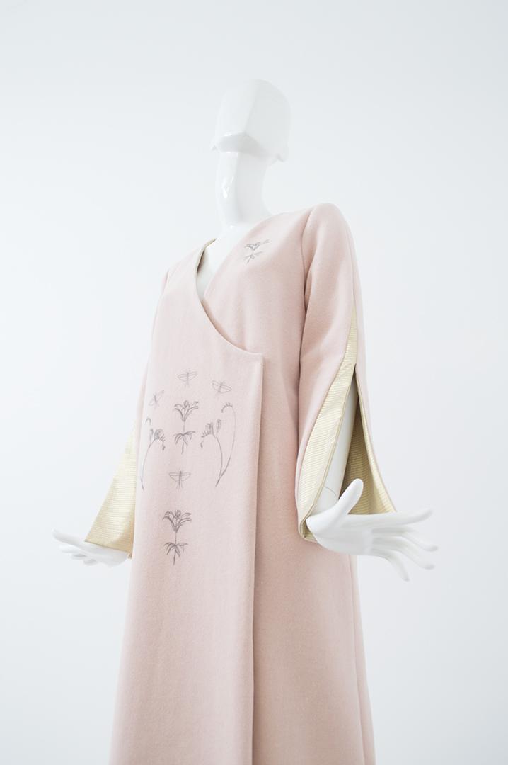 manteau rose 1