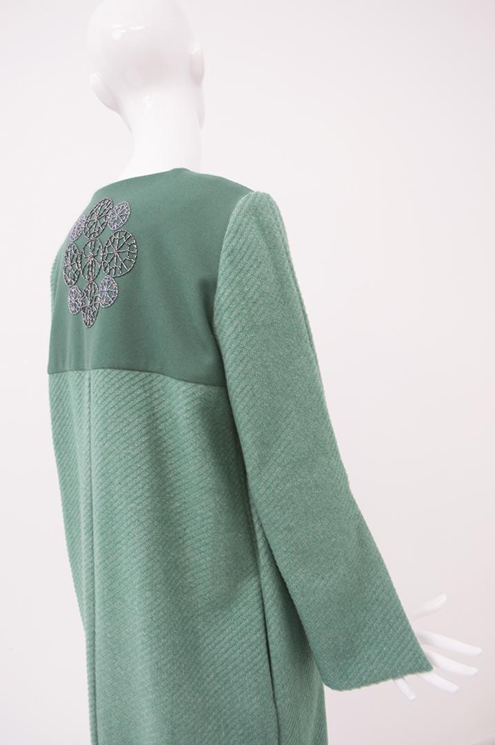 manteau vert 1