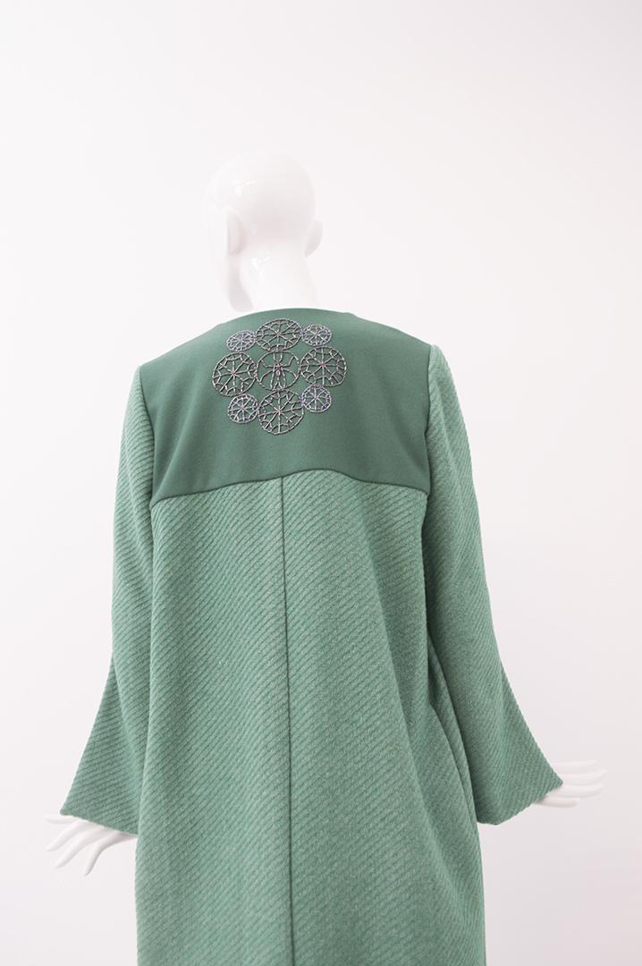 manteau vert 2