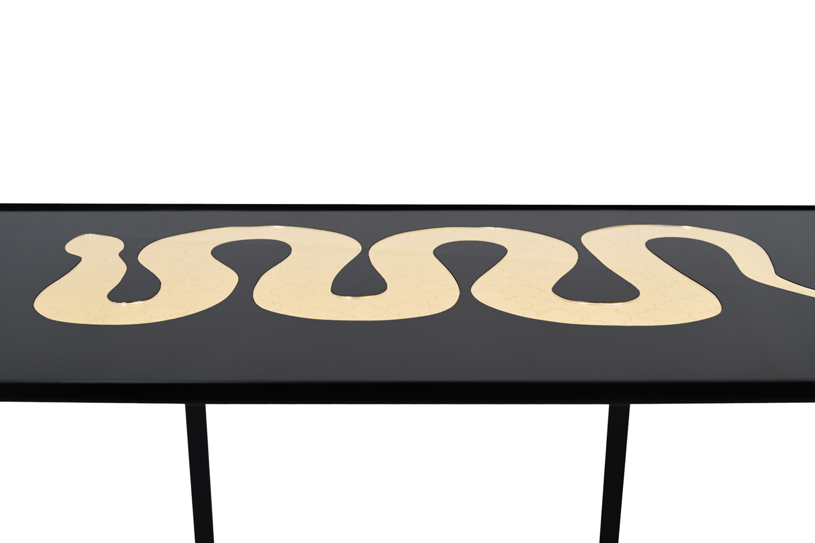 Table Serpent d'or 3
